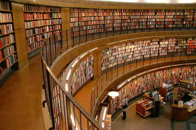 Stockholm Public Library (interior view)