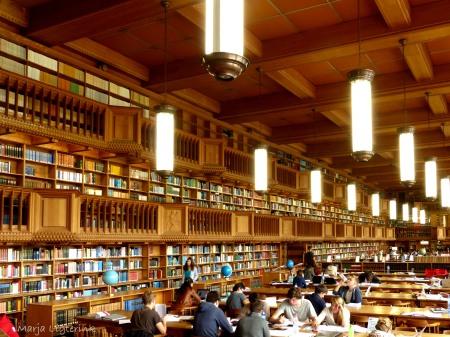 Leuven University Library, interior view