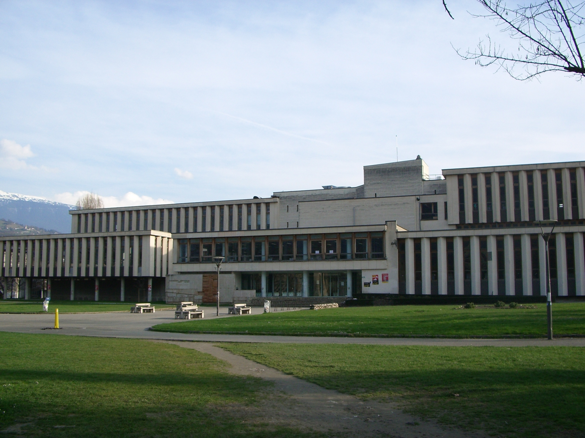 Grenoble University Library (outside view)